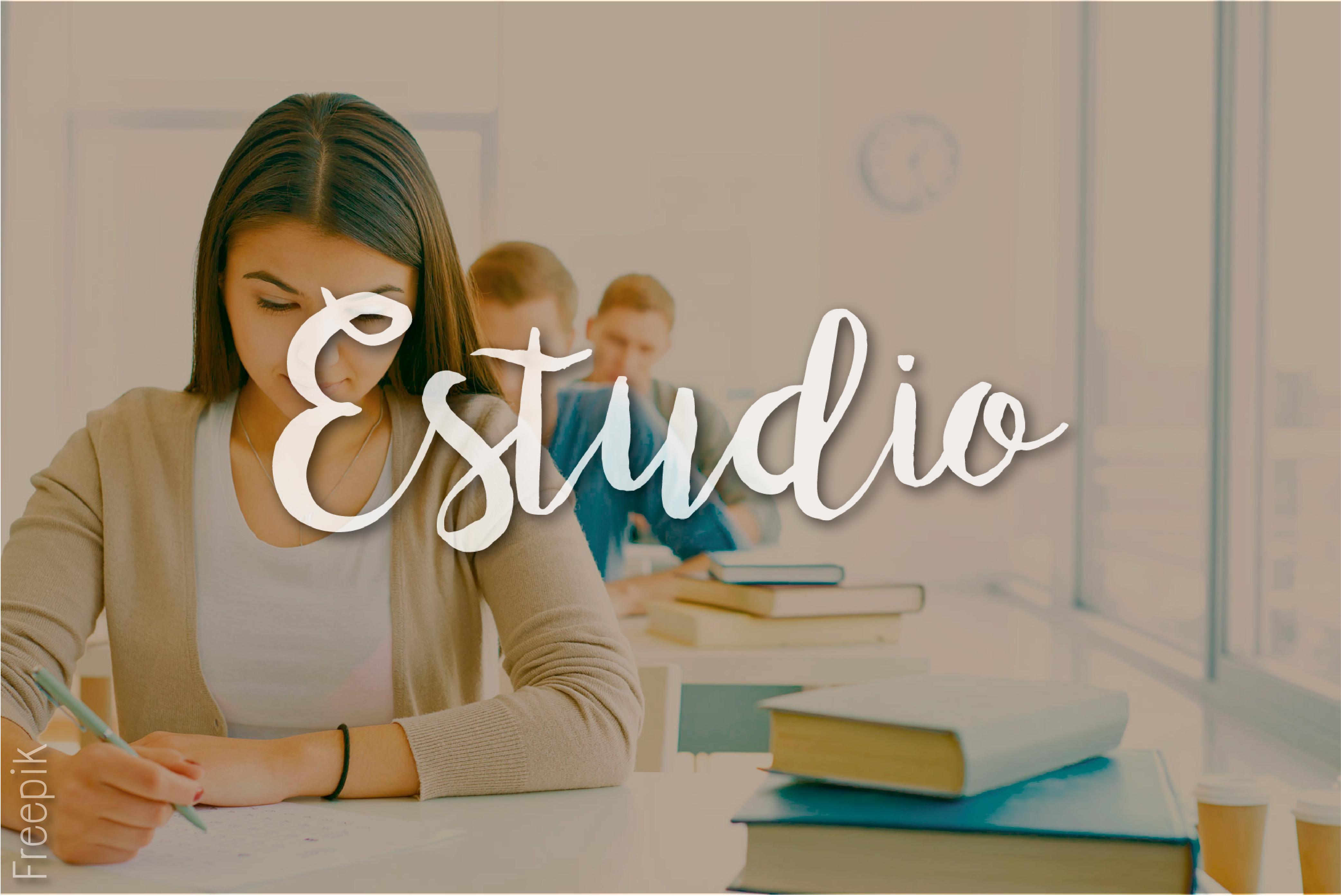 """estudio""""/"""